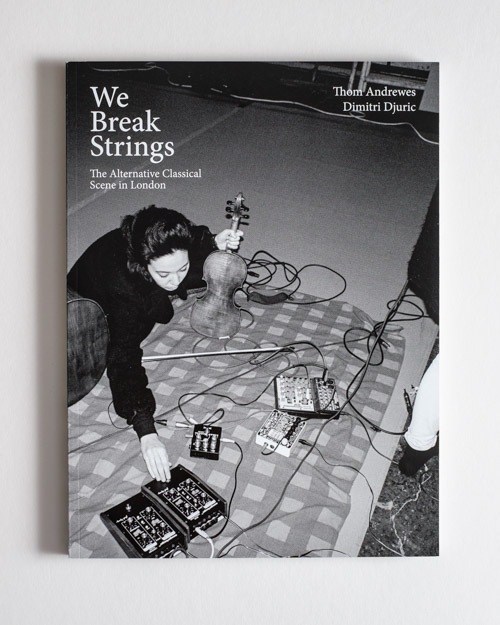 We Break Strings Cover